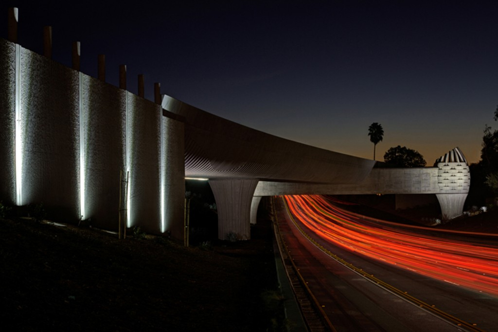 07 GoldLine Bridge_night by Douglas Hill