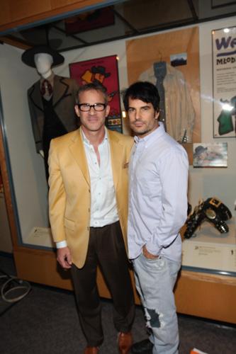08 Tom Gregory and  Y&R soap star Thom Bierdz